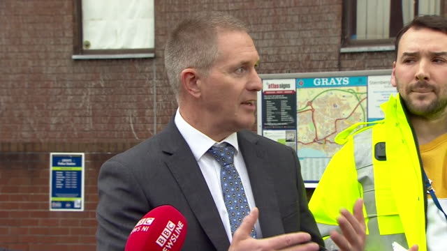 essex police detective chief inspector martin pasmore saying it is not yet known what nationality the 39 bodies discovered in a lorry were but he is... - south east asia stock videos & royalty-free footage