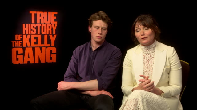 interview essie davis on why 'the element of surprise' in true history of the kelly gang will thrill audiences acknowledging that it's 'brave'... - courage stock videos & royalty-free footage