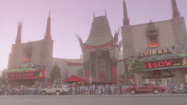 est. mann's chinese theater, hollywood, ca - glamour stock videos & royalty-free footage