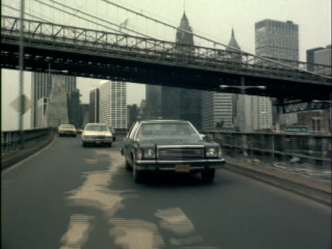 est new york city streets 1970s - yellow taxi stock videos and b-roll footage