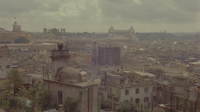 est. rome, italy skyline - establishing shot stock videos & royalty-free footage