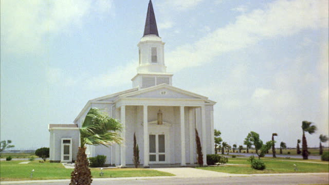 ws establish chapel at corpus christi texas air base - corpus christi texas stock videos & royalty-free footage