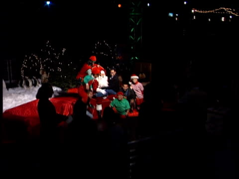 establishing at the 12th annual kroq almost acoustic christmas at universal studios in universal city, california on december 8, 2001. - kroq stock videos & royalty-free footage