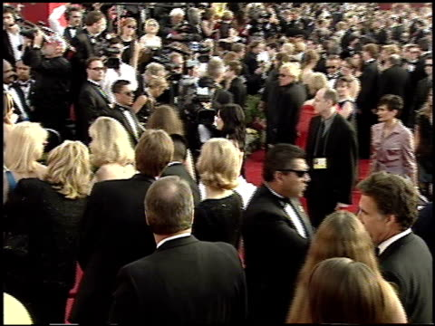 Establishing at the 2001 Academy Awards at the Shrine Auditorium in Los Angeles California on March 25 2001