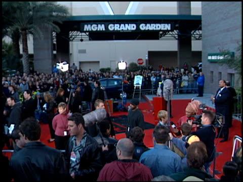 Establishing at the 2001 Billboard Music Awards at MGM Grand in Las Vegas Nevada on December 3 2001