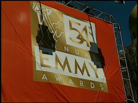 Establishing at the 2002 Emmy Awards at the Shrine Auditorium in Los Angeles California on September 22 2002