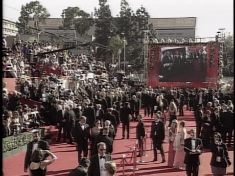 establishing at the academy awards 2000 at shrine - 72nd annual academy awards stock videos and b-roll footage