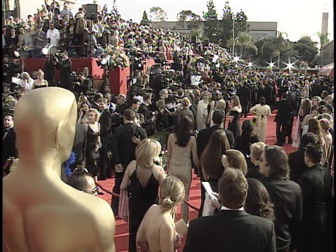 establishing at the academy awards 2001 at shrine los angeles in los angeles ca - 73rd annual academy awards stock videos & royalty-free footage