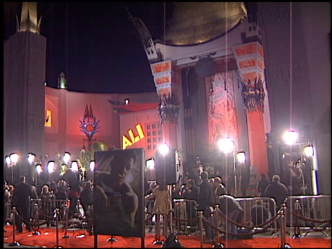 Establishing at the 'Ali' Premiere at Grauman's Chinese Theatre in Hollywood California on December 12 2001