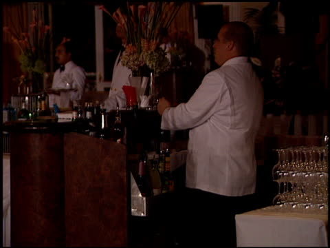 establishing at the clive davis' grammy awards party at the beverly hilton in beverly hills, california on february 20, 2001. - clive davis stock videos & royalty-free footage