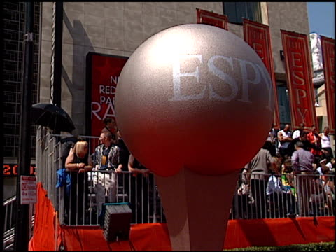 establishing at the espy awards at the kodak theatre in hollywood, california on july 10, 2002. - espy awards stock videos & royalty-free footage