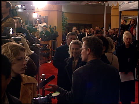 Establishing at the 'Message in a Bottle' Premiere at the Mann Village Theatre in Westwood California on February 8 1999