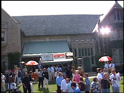 establishing at the playboy fight night at playboy mansion in los angeles california on july 9 2002 - playboy mansion stock videos & royalty-free footage