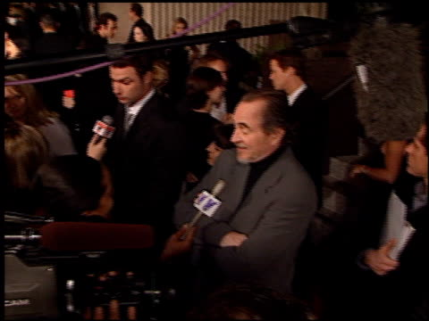 Establishing at the 'Scream 3' Premiere at Avco Cinema in Westwood California on February 3 2000