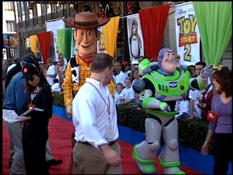 Establishing at the 'Toy Story 2' Premiere at the El Capitan Theatre in Hollywood California on November 13 1999