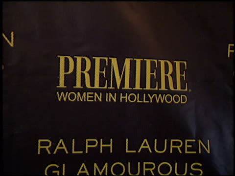 establishing at the women in hollywood luncheon at the four seasons hotel in los angeles, california on october 22, 2001. - four seasons hotel stock videos & royalty-free footage