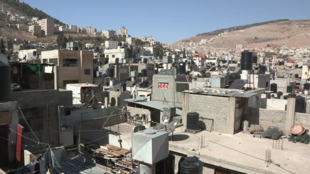 Establishing Shot, Balata Refugee Camp, Palestine