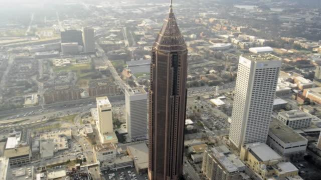 Establishing shot, Bank of America Plaza- Atlanta, Georgia