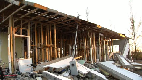 establishing shot of a home destroyed by hurricane dorian in freeport, bahamas. - 2010 2019 stock videos & royalty-free footage