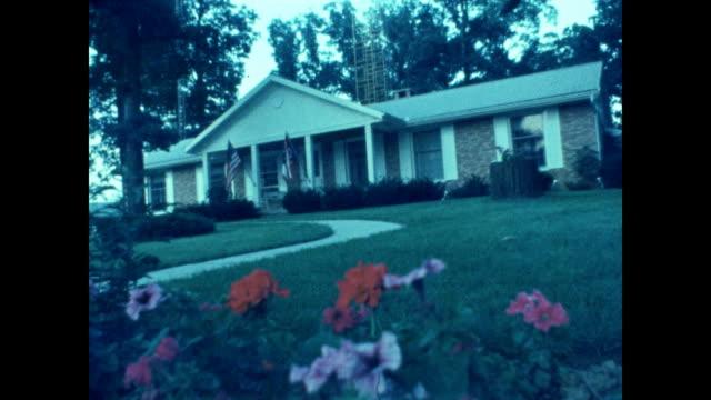 establishing shots around neil armstrong's hometown of wapakoneta, ohio. - 1960 1969 stock videos & royalty-free footage