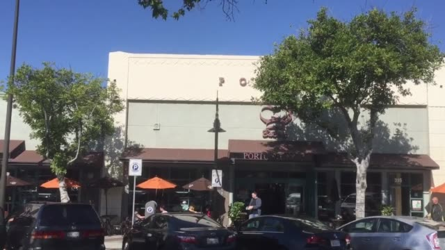 establishing shots of porto's cafe porto's a southern california mainstay responsible for catering generations of family parties birthdays and... - french bakery stock videos & royalty-free footage