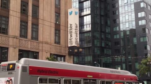 establishing shots of twitter headquarters - headquarters stock videos & royalty-free footage