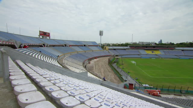 "estadio centenario stadium / montevideo, uruguay"" - montevideo stock-videos und b-roll-filmmaterial"