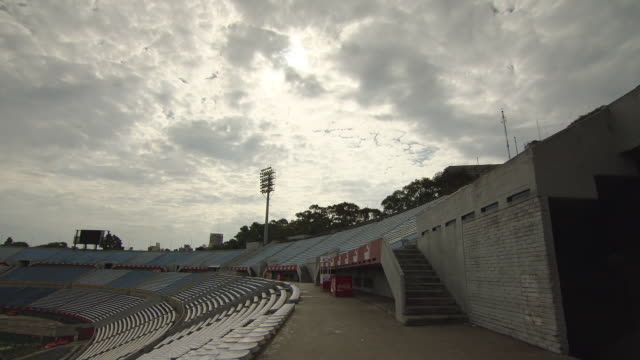 "estadio centenario stadium / montevideo, uruguay"" - montevideo stock videos & royalty-free footage"
