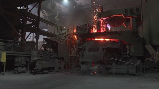 vídeos y material grabado en eventos de stock de estados unidos dijo el jueves que impondra fuertes aranceles a las importaciones de acero y aluminio de mexico canada y la union europea a partir de... - ee.uu