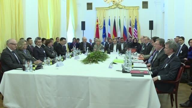 vídeos de stock, filmes e b-roll de estados unidos y sus aliados europeos tuvieron muy buenas conversaciones para ponerse de acuerdo sobre garantias adicionales pedidas a iran para... - forças aliadas