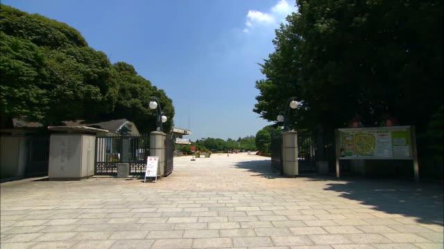 estblishing shot of the equestrian park for the 2020 tokyo olympics. - sport点の映像素材/bロール