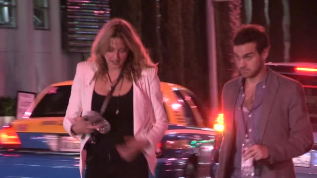 Estella Warren departing Joan Jett Concert After Party at House of Blues in West Hollywood at Celebrity Sightings in Los Angeles Estella Warren...