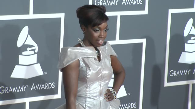 Estelle at the 51st Annual Grammy Awards Part 3 at Los Angeles CA