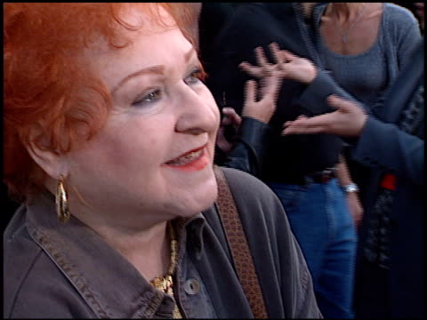 Estelle Harris at the 'Toy Story 2' Premiere at the El Capitan Theatre in Hollywood California on November 13 1999