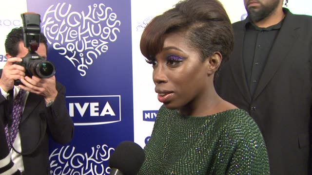 Estelle on her Grammy win and how she is a hugger at the NIVEA at the Island Def Jam 2009 GRAMMY's After Party at Los Angeles CA