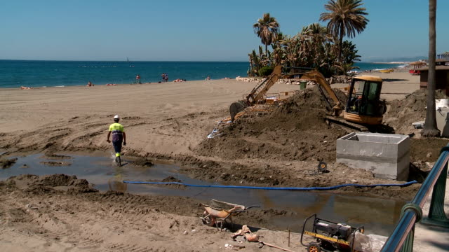 Estepona beach regeneration