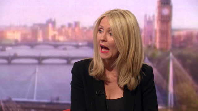 esther mcvey saying the conservative party is a broad church and about social mobility - leadership stock videos & royalty-free footage