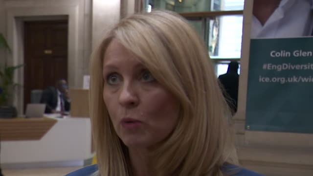 Esther McVey saying the trust of the general public was broken when Britain did not leave the EU on the 31st March