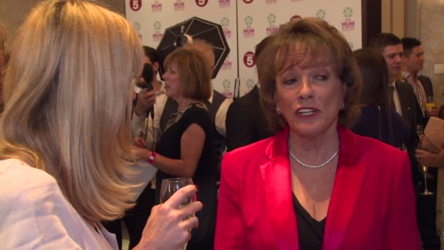 Esther Rantzen at Tesco's Mum of the Year at The Savoy Hotel on March 23 2014 in London England