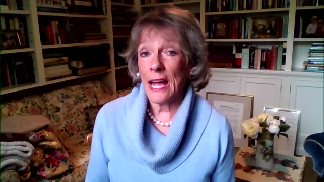 """esther rantzen saying there are people at the bbc """"who need to be asking questions"""" about the rehiring of martin bashir - report document stock videos & royalty-free footage"""