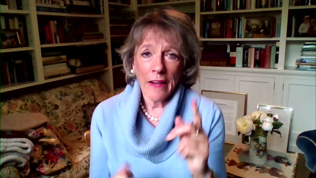 """esther rantzen talking about the need for """"guardians"""" for whistleblowers at the bbc - report document stock videos & royalty-free footage"""