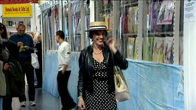 Esther Rantzen to stand as Luton South independent candidate R28070904 Luton Various views of Rantzen wearing straw boater posing for photocall...