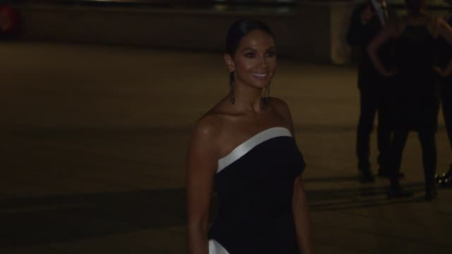 esther ranzen alesha dixon ashley banjo charlie webster david haye geri horner sam faiers at old billingsgate on september 28 2017 in london england - geri horner stock videos & royalty-free footage