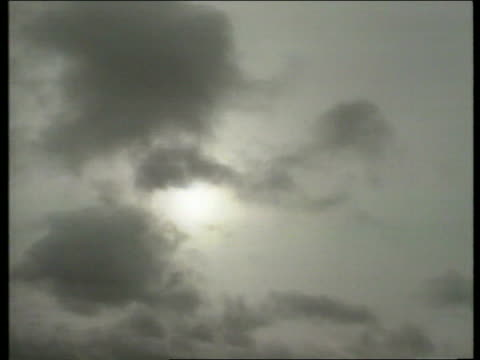 stockvideo's en b-roll-footage met estonia ferry disaster / weather closes in ****for turku air dark clouds overhead - ferry