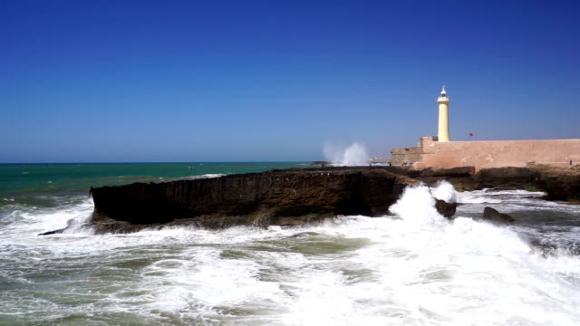 estuary of the bouregreg, rabat, morocco - rabat morocco stock videos & royalty-free footage