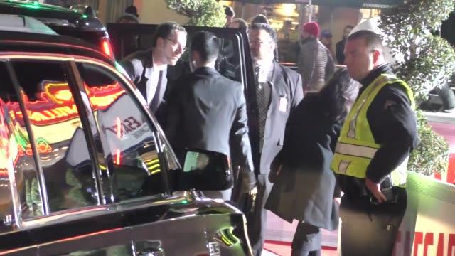 vidéos et rushes de ethan coen arrives to hail caesar premiere at regency village theatre in westwood in celebrity sightings in los angeles - regency village theater