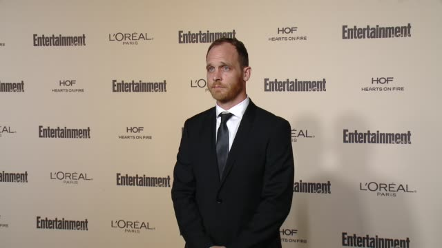 ethan embry at entertainment weekly's preemmy celebration at fig olive melrose place on september 18 2015 in west hollywood california - entertainment weekly stock videos and b-roll footage