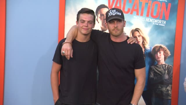 ethan embry at the vacation los angeles premiere at regency village theatre on july 27 2015 in westwood california - regency village theater stock videos and b-roll footage