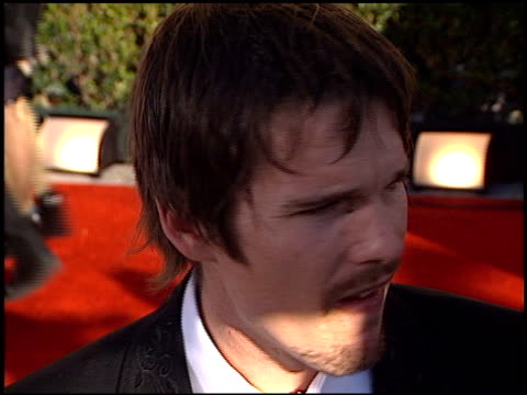 Ethan Hawke at the 2002 Screen Actors Guild SAG Awards at the Shrine Auditorium in Los Angeles California on March 10 2002