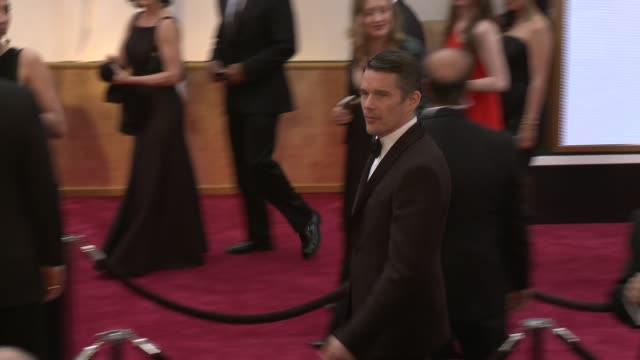 Ethan Hawke at the 87th Annual Academy Awards Arrivals at Dolby Theatre on February 22 2015 in Hollywood California